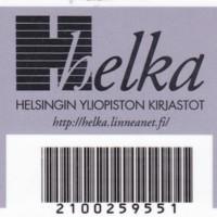 Kirjastokortti - Helka-kirjastot
